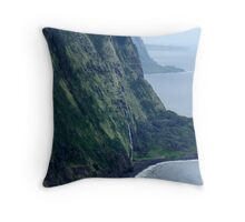 Hawaiian Shoreline Throw Pillow