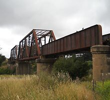 The Crookwell Line - Wollondilly River Bridge by DashTravels