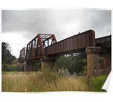 The Crookwell Line - Wollondilly River Bridge Poster