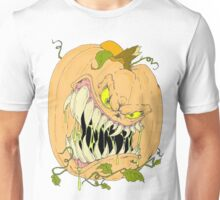 Horror Pumpkin Unisex T-Shirt
