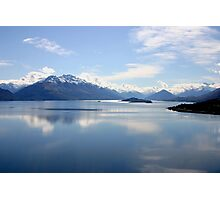 New Zealand landscape Lake Wakatipu Photographic Print