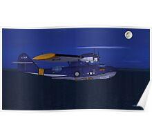PBY Moonlight Flight Poster