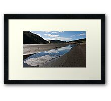 Bethells Beach Lagoon, Auckland, New Zealand Framed Print