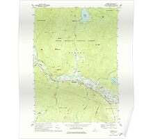 USGS TOPO Map New Hampshire NH Rumney 329769 1973 24000 Poster