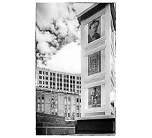 Houdini Plaza Photographic Print
