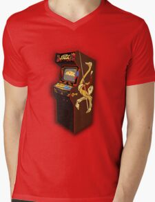 Copper Key Joust Arcade Mens V-Neck T-Shirt
