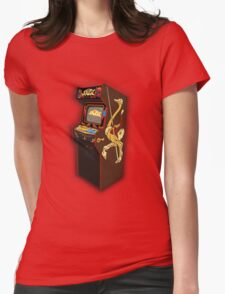 Copper Key Joust Arcade Womens Fitted T-Shirt
