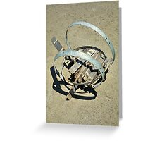 barrelled out Greeting Card