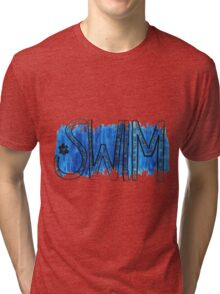 Swim Tri-blend T-Shirt