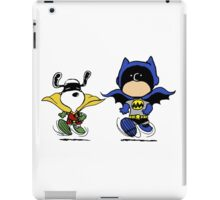 Batman and Robin Peanuts iPad Case/Skin
