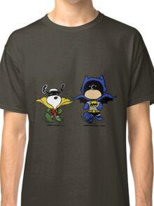 Batman and Robin Peanuts Classic T-Shirt