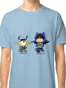 Batman and Robin Peanuts Classic T-Shirt