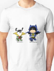 Batman and Robin Peanuts T-Shirt