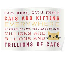 Millions of Cats Poster