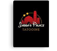 Jabba's Palace (dark version) Canvas Print