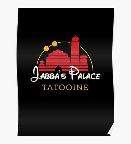 Jabba's Palace (dark version) Poster