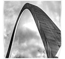 Gateway Arch - Study in Steel Poster