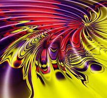 Abstract swirl by Jan Clarke