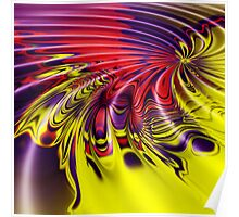 Abstract swirl Poster