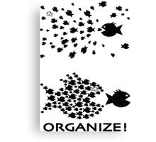 Organize Canvas Print