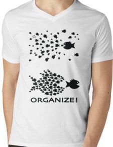 Organize Mens V-Neck T-Shirt