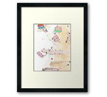 Lake Gnomes Framed Print