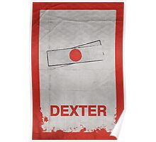 Dexter minimalist poster Poster