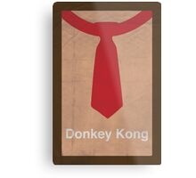 Donkey Kong minimalist poster Metal Print