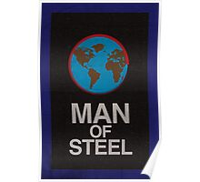 Man of Steel minimalist poster Poster