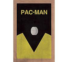 Pac-Man minimalist poster Photographic Print