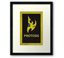 Protoss Framed Print