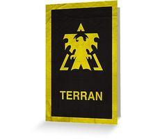 Terran  Greeting Card