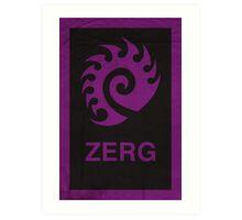 Zerg Art Print