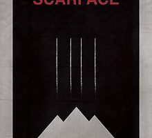 Scarface minimalist poster by thegDesigns