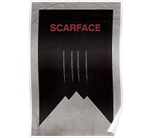 Scarface minimalist poster Poster