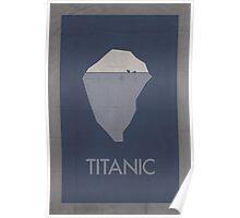 Titanic minimalist poster Poster