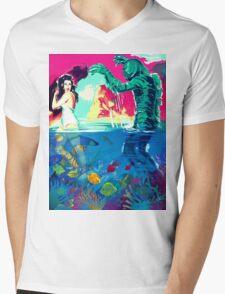 Creature Pop! Mens V-Neck T-Shirt