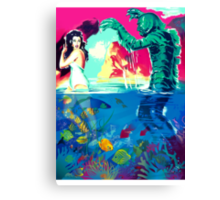 Creature Pop! Canvas Print