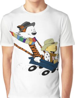 Calvin And Hobbes Doctor Calvin Graphic T-Shirt