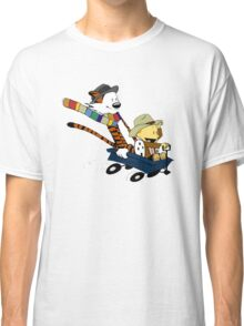 Calvin And Hobbes Doctor Calvin Classic T-Shirt