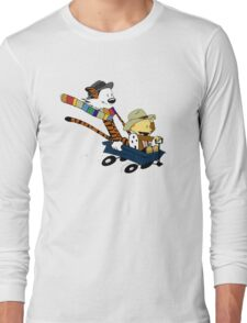 Calvin And Hobbes Doctor Calvin Long Sleeve T-Shirt