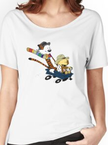 Calvin And Hobbes Doctor Calvin Women's Relaxed Fit T-Shirt