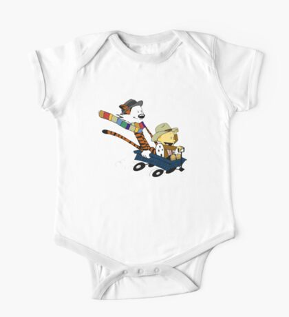 Calvin And Hobbes Doctor Calvin One Piece - Short Sleeve