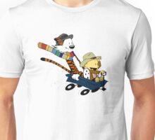 Calvin And Hobbes Doctor Calvin Unisex T-Shirt