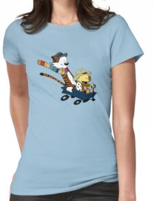 Calvin And Hobbes Doctor Calvin Womens Fitted T-Shirt