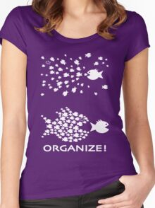 Organize Women's Fitted Scoop T-Shirt