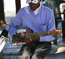 Cape Town Guitarist by DRWilliams