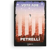 Vote for Nathan Petrelli Canvas Print