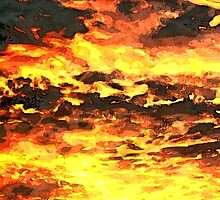 Fire in the Sky by Sally Murray