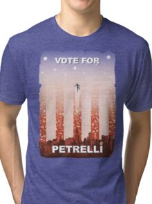 Vote for Nathan Petrelli Tri-blend T-Shirt